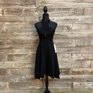 🖤American Apparel Black Halter Keyhole Dress